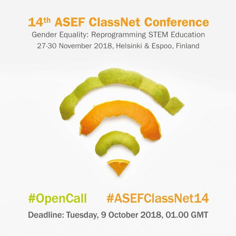 Open Call ASEF Classroom Network Conference