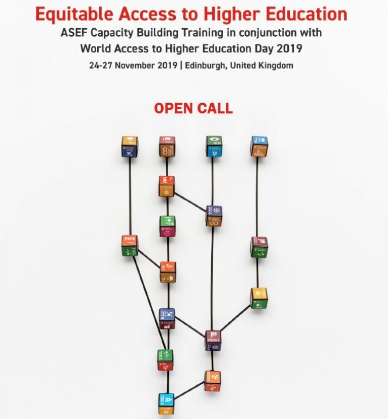 Open Call 'Equitable Access to Higher Education'