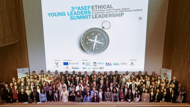 120 Young Leaders Gathered in Brussels for ASEFYLS3